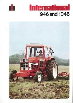 International Tractor 946 & 1046 Brochure