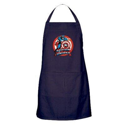 CafePress Captain America Kitchen Apron (1283029842)