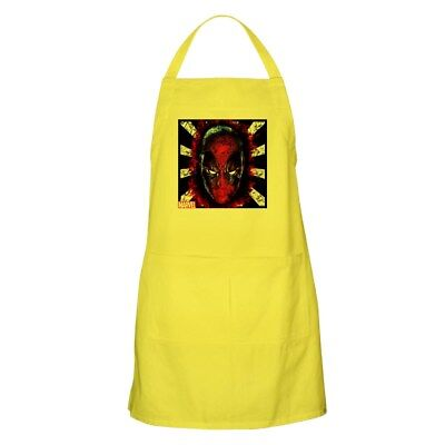 CafePress Deadpool Head Apron Full Length Cooking Apron (1275738363)