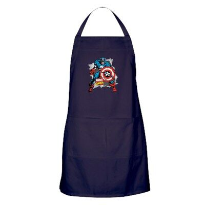 CafePress Captain America Ripped Kitchen Apron (1289969352)