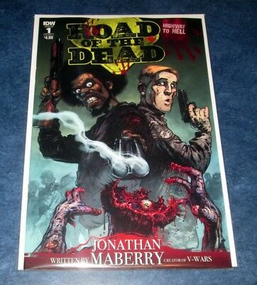 ROAD OF THE DEAD highway to hell #1 A 1st print IDW movie prequel George Romero