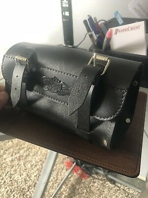 Harley-Davidson Leather Tool Bag Fork Pouch with Logo