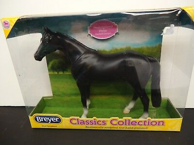 Breyer Model Horses Classics Size Black Thoroughbred #935