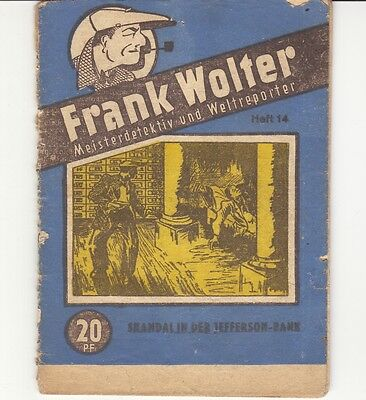 Frank Wolter  Nr. 14   (Zust. 3-4)