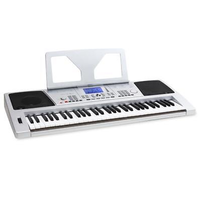 Elektronisches Einsteiger Keyboard Digital Piano 61 Tasten Lcd Display Usb Midi