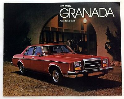 Car Auto Brochure 1980 Ford Granada 16 Pages