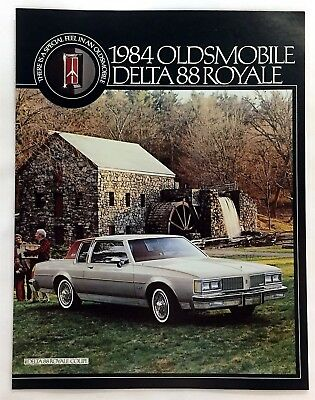Car Auto Brochure 1984 Oldsmobile Delta 88 Royale 6 Pages