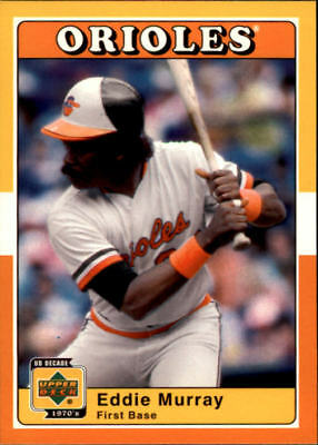Verzamelkaarten: sport Honkbal 2001 Upper Deck Decade 1970's Game-Used Bats B-EM Eddie Murray Baltimore Orioles