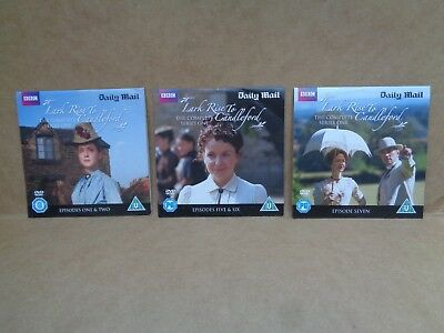 Lark Rise to Candleford,Series 1,episodes 1-2,5-7(3 Daily Mail promos)ALL AS NEW