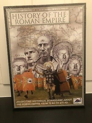 History of the Roman Empire Board Game - New in shrink