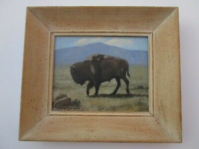 Incredible Charles Damrow Painting  Finest Buffalo Landscape Listed American Art