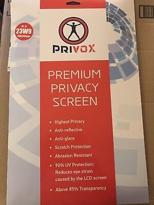 Premium Privacy Screen 23 Inches Display