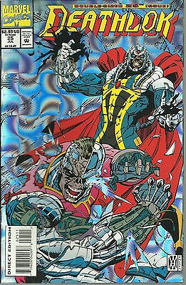 2 1993 Marvel Comics Deathlok Beware the Tracer & 25th issue