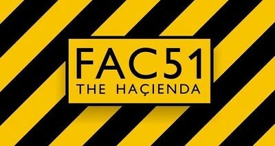 The Hacienda Poster Fridge Magnet