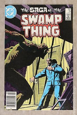 Swamp Thing (2nd Series) #21 1984 FN+ 6.5