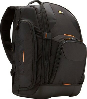Case Logic SLRC-206 SLR Camera and 15.4-Inch Laptop Backpack Black