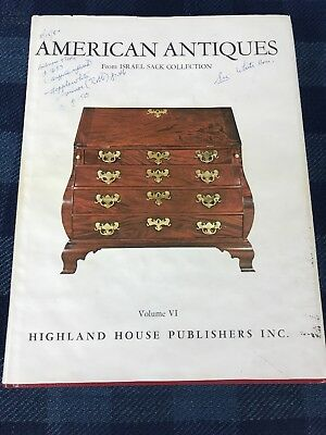 American Antiques Furniture from Israel Sack Collection Volume 7 Hardcover