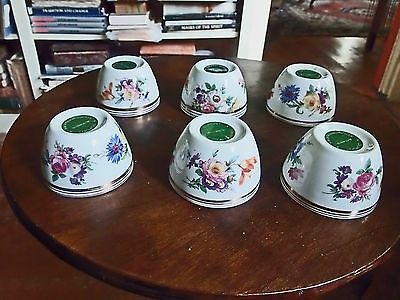 6  Souvenir Egg Cups Honorably Pinched From Place Hotel Brussels Belgium