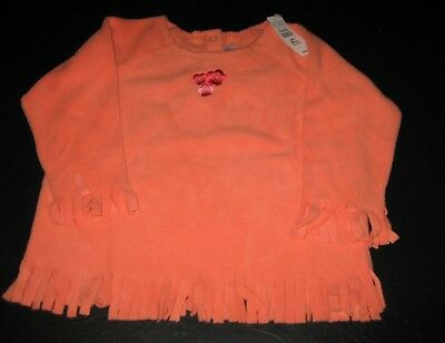 New Children's Place Peach Fringe Top  18 Months