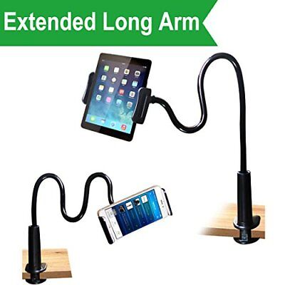 MAGIPEA Cellphone & Tablet Stand Holder Clip Grip Flexible Long Arm Gooseneck -