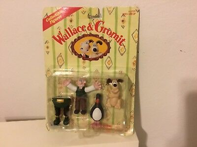 Wallace and Gromet NEW IN PKG Wrong Trouser Figures 1989 Irwin Toy LTD.