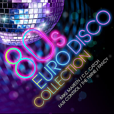 CD 80s Euro Disco Collection from Various Artists 2CDs