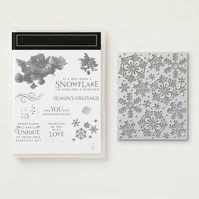 Snowstorm Snowflake Metal Cutting Dies and Clear Stamp Stencils DIY Scrapbook