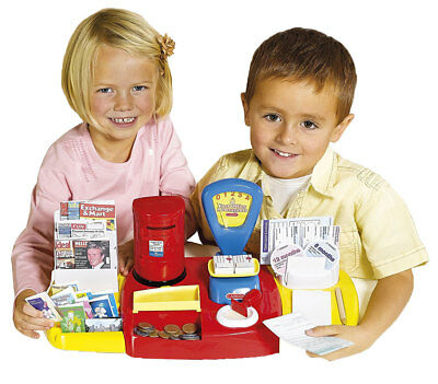 Kids Post Office Set Childrens Toy Pretend Role Play Playset Casdon