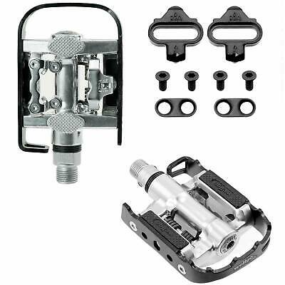 Wellgo Multi-Function Mountain Bike Sealed Pedals Shimano SPD Compatible Black