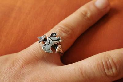 Amazing Antique Silver Ring Band of Ancient Egyptian KING RAMSES II...STAMPED