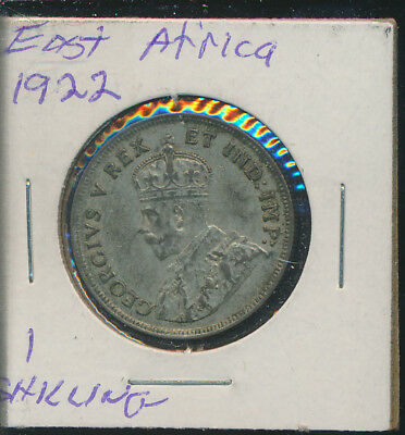 East Africa - 1 Silver Shilling 1922