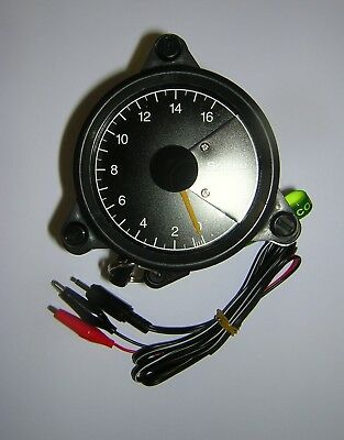 Scitsu Rev-Counter Blue 16. 4 Cylinder 4 Stroke. New