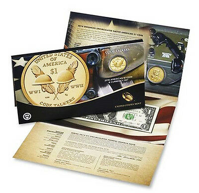 2016 Code Talker American $1 Coin  Currency Set