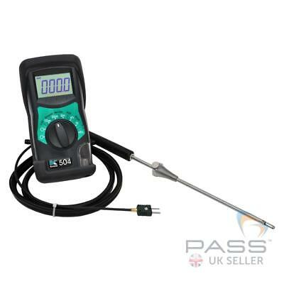 *NEW* Kane 504 Low Cost Combustion Analyser for Oxygen,CO/CO2 ratio, Excess Air