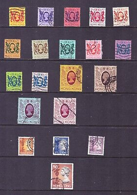 Hong Kong stamps - 20 Very old Used