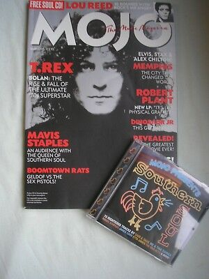 MOJO music magazine #138 May 2005 +CD Bolan Lou Reed Robert Plant Dinosaur Jr