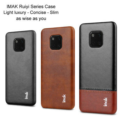Imak For Huawei Mate 20 /Pro Luxury Shockproof Men's Business Leather Case Cover
