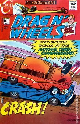Drag N Wheels #49 1971 VG Stock Image Low Grade