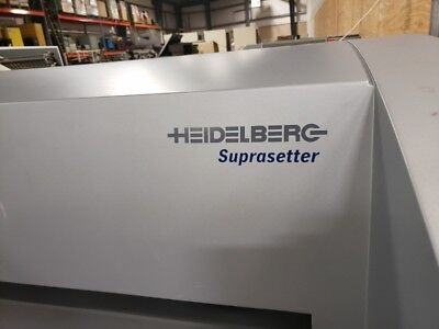 2008 Heidelberg Suprasetter 74 Ctp,  Rip,  Thermal Plate Washer