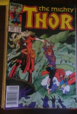 Marvel Comics  The Mighty THOR  #347, #348 & 349   All NM/MT