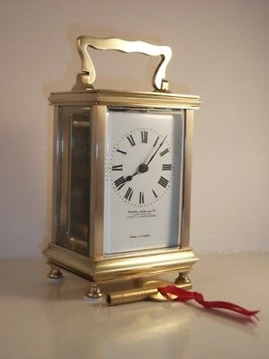 Antique French carriage clock C1910. With key. Restored & serviced in Oct. 2018.