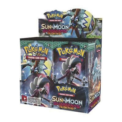 Pokemon TCG: Sun & Moon Guardians Rising Box x36 Boosters :: Brand New And Seale