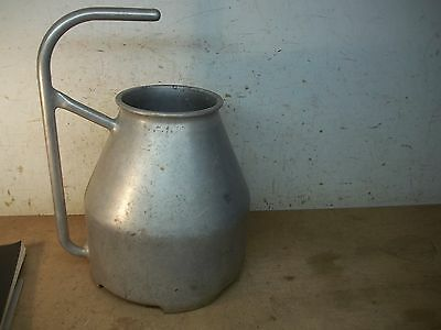Big Old Aluminum Handled Milk Pot  for Flower Pot Garden Planter