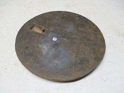 Old CI Pot Hole Lid Cover For Wood Burning Stove Lot I