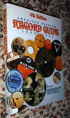 American Premium Record Guide 1900 1965,Docks,G,SB,1992 4th Edition    C