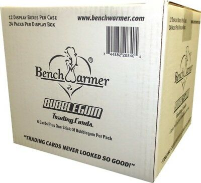 2013 Benchwarmer Bubblegum 24ct Display 12-Box Case