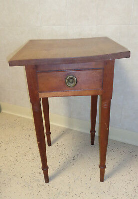 Antique Cherry Sheridan One Drawer Stand