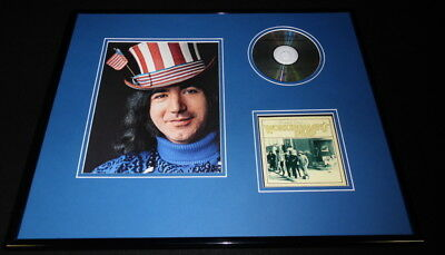 Jerry Garcia Framed 16x20 Grateful Dead Working Man's Dead CD & Photo Set