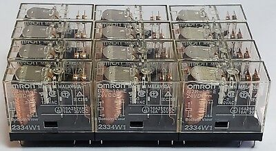 Lot of 12 Omron G2R-1A-E 24VDC Relay