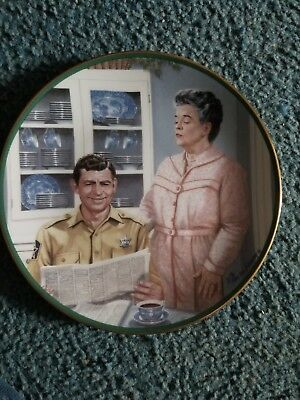 The Hamilton Collection The Andy Griffith Show AUNT BEE'S KITCHEN Plate #2446A